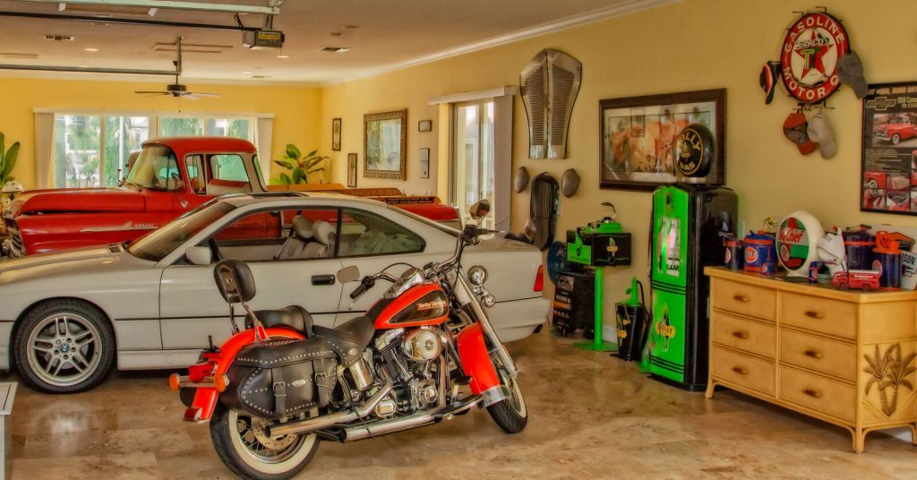 Man Cave Remodel in Garage of Cape Coral, FL Home