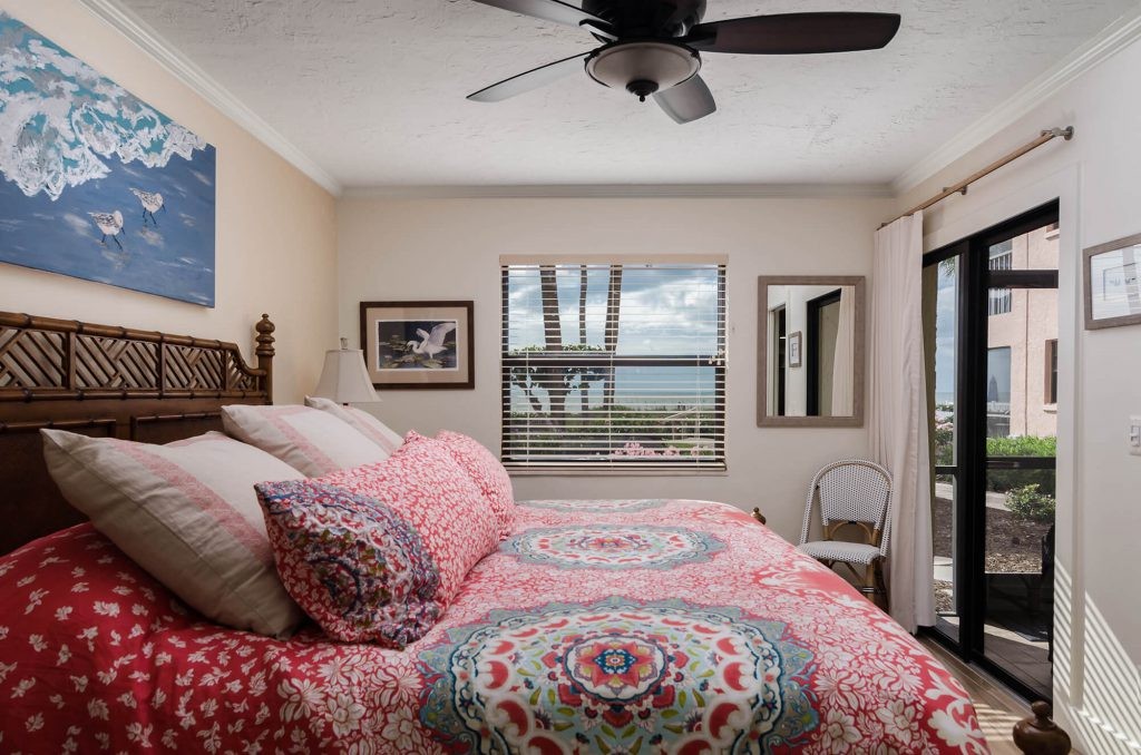 Master Bedroom in Condo Remodel Ocean's Reach Marino FL