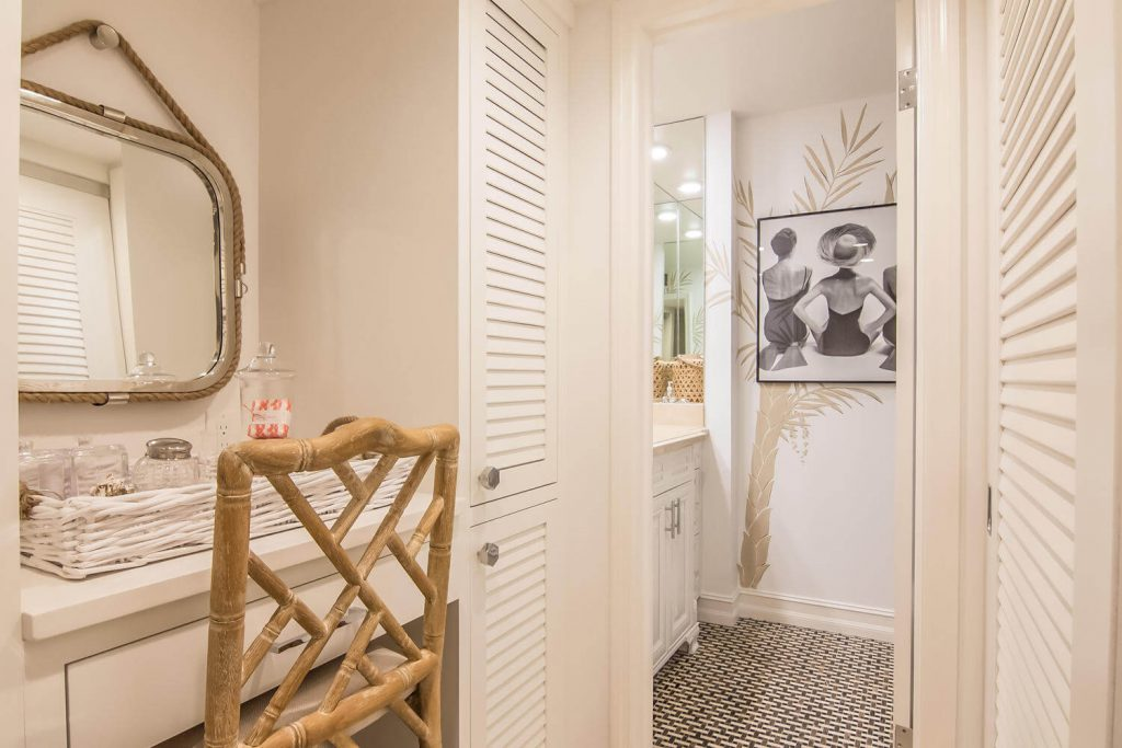 Luxury Powder Room Remodel in Naples, FL