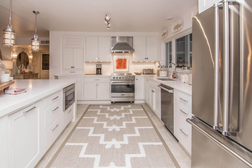 Lion's Gate Tribout FL Kitchen Remodel in Condo with Stainless Steel Appliance