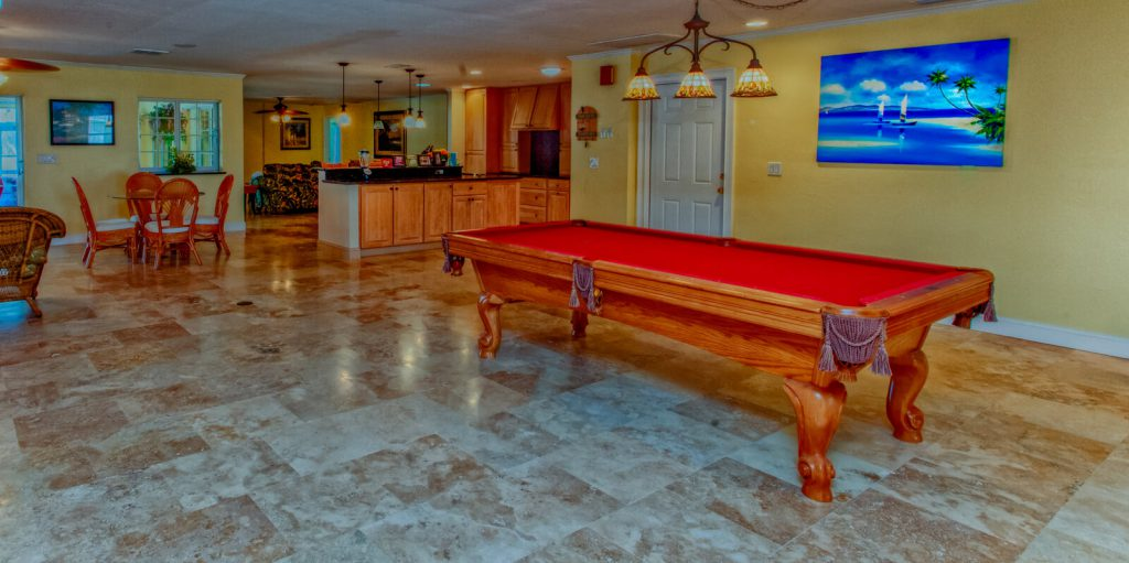 Basement Game Room Renovation in Cape Coral, FL