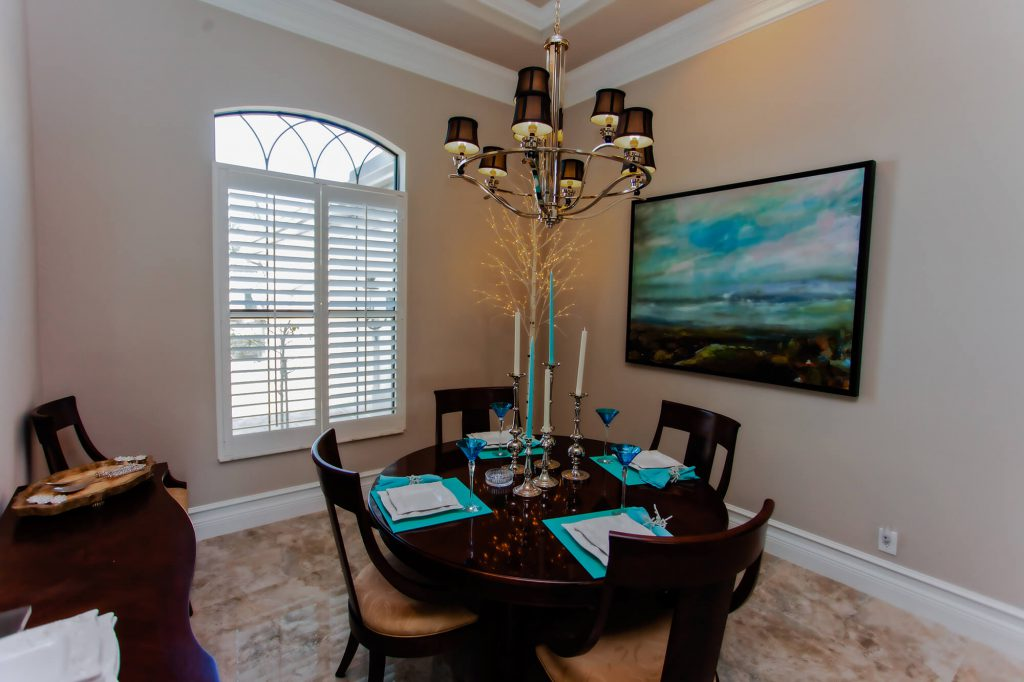 Dining Room Remodel in Bonita Lakes, FL Home