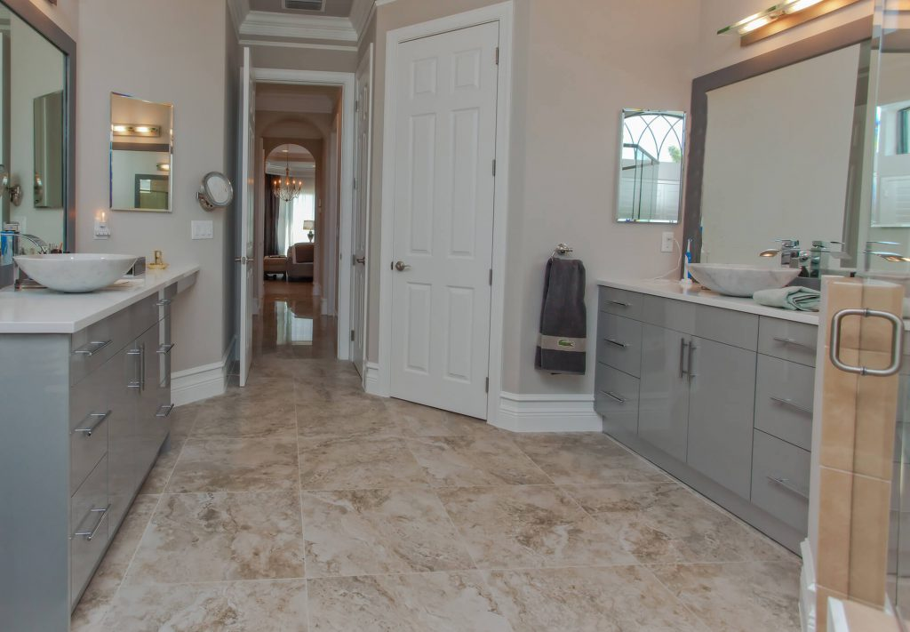 Master His & Hers Bathroom in Bonita Lakes, FL Home