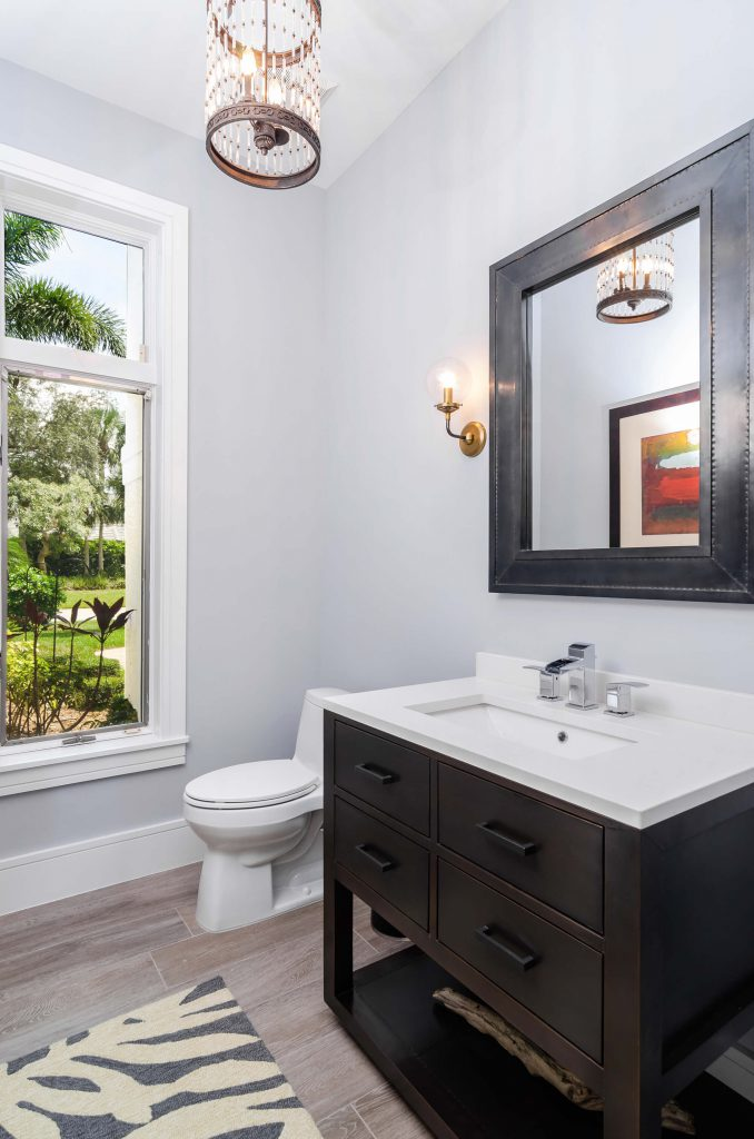 Wyndemere, FL Bathroom Remodel with Modern-Retro theme