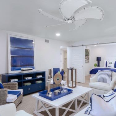 Naples Condominium Remodeling with Living Room