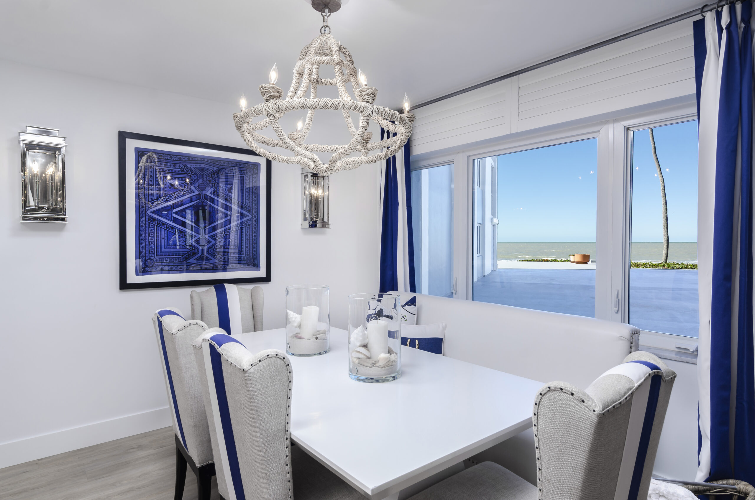 Naples Condo Remodeling with Dining Room in Lions Gate