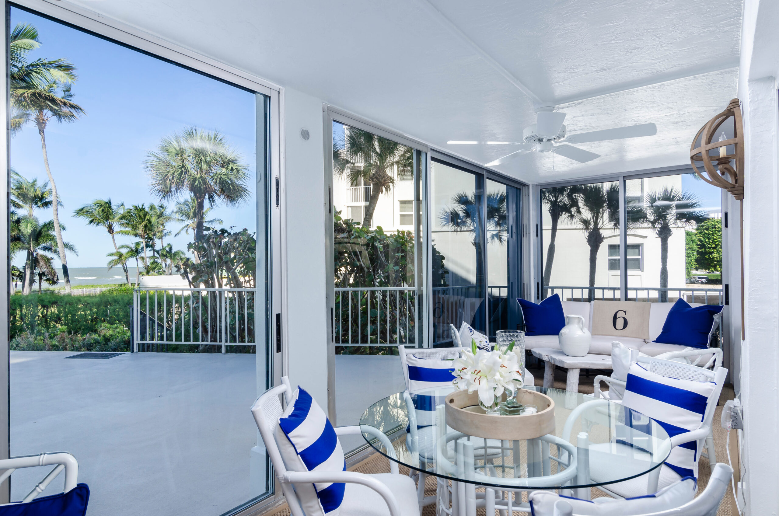 Lions Gate in Naples Condo Remodeling Lanai